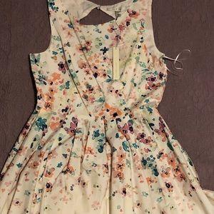 Floral Lauren Conrad Dress